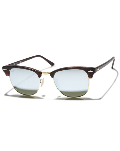 d30fa3fab93 Ray-Ban Clubmaster 51 Sunglasses - Sand Havana Green