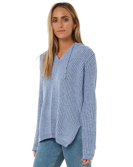 BLUE WOMENS CLOTHING SWELL KNITS + CARDIGANS - S8182151BLUE