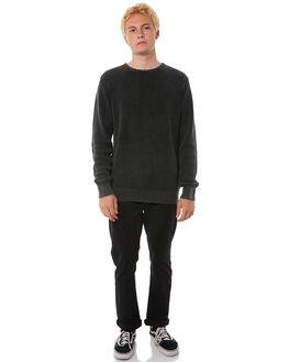 BLACK MENS CLOTHING BILLABONG KNITS + CARDIGANS - 9585851BLK