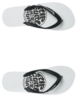 WHITE MENS FOOTWEAR RIP CURL THONGS - TCTA541000