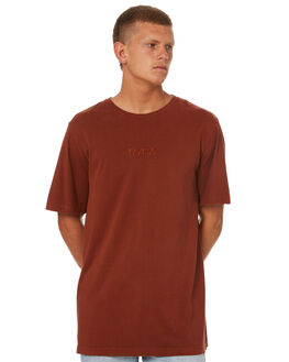 RUST MENS CLOTHING RVCA TEES - R171070RUST