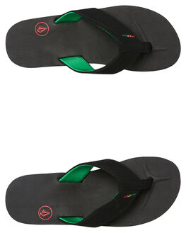 JAH MENS FOOTWEAR VOLCOM THONGS - V0811522JAH