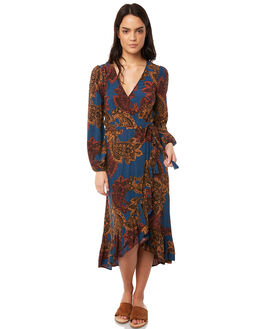MULTI OUTLET WOMENS TIGERLILY DRESSES - T381437MUL