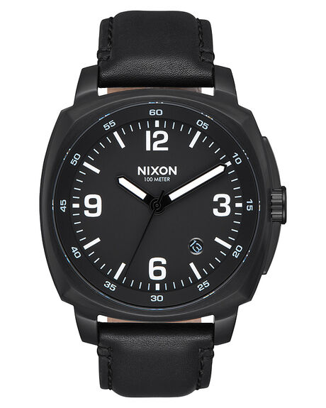 ALL BLACK MENS ACCESSORIES NIXON WATCHES - A1077001