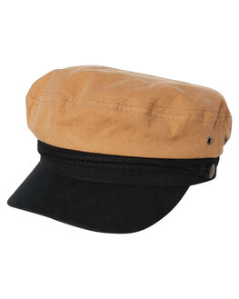 TOBACCO MENS ACCESSORIES RUSTY HEADWEAR - HHM0436TOB