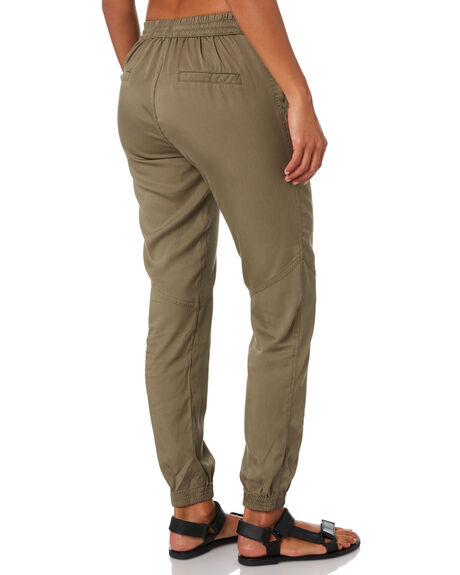 FADED OLIVE WOMENS CLOTHING RUSTY PANTS - PAL1109FDO