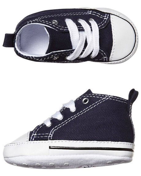 d825f0301bd Converse Baby First Star Crib Shoe - Navy
