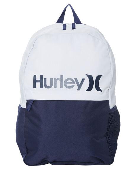 MIDNIGHT NAVY KIDS BOYS HURLEY BAGS + BACKPACKS - HH9A7096U90