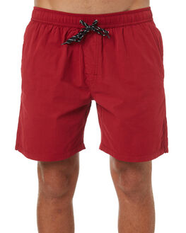 WASHED MAROON MENS CLOTHING SWELL BOARDSHORTS - S5164231WMRN