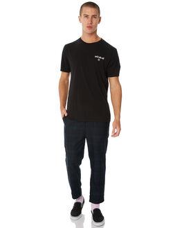 BLACK MENS CLOTHING NO NEWS TEES - N5183003BLACK