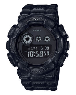 BLACK  BLACK MENS ACCESSORIES G SHOCK WATCHES - GD120BT-1BLKBK