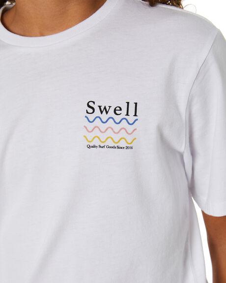 WHITE KIDS BOYS SWELL TOPS - S3203001WHITE
