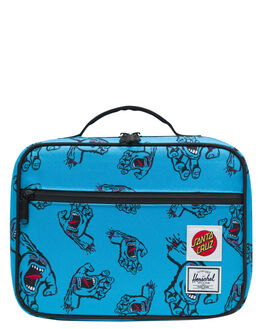 SANTA CRUZ BLUE KIDS BOYS HERSCHEL SUPPLY CO OTHER - 10227-02573-OSSCB