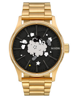 GOLD BLACK MENS ACCESSORIES NIXON WATCHES - A3563092GLDBK