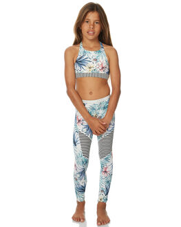 BELHARRA FLOWER BOARDSPORTS SURF ROXY GIRLS - ERGNP03021WBT6