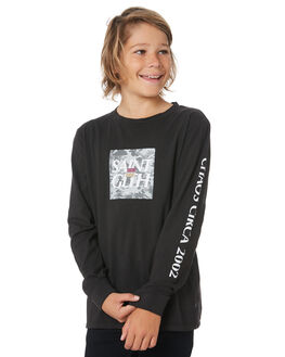BLACK KIDS BOYS ST GOLIATH TOPS - 2433014BLK