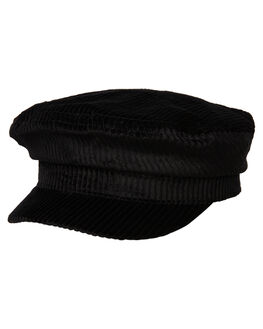 BLACK MENS ACCESSORIES RHYTHM HEADWEAR - ACC00M-HW02-BLK