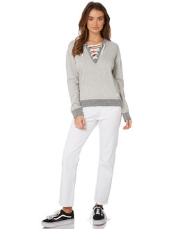 GREY MARLE WOMENS CLOTHING ELWOOD JUMPERS - W91201GRYMA