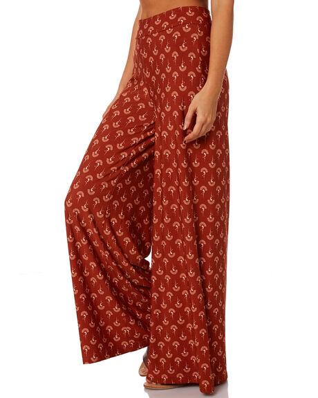 RUST WOMENS CLOTHING TIGERLILY PANTS - T393370RUS