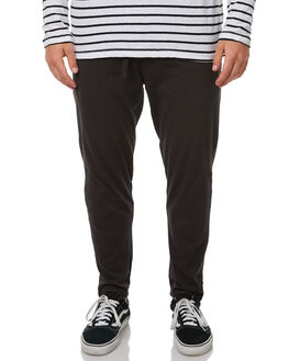 WORN BLACK MENS CLOTHING ASSEMBLY PANTS - AM-S1707WBLK