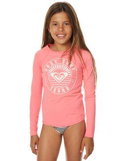 PINK SURF RASHVESTS ROXY GIRLS - ERGWR03053MJZ0