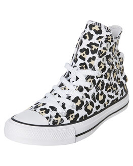 WHITE WOMENS FOOTWEAR CONVERSE SNEAKERS - 167086CWHT