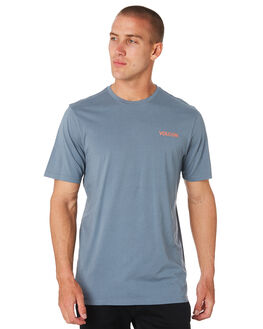 ASH BLUE MENS CLOTHING VOLCOM TEES - A52318G0ASH