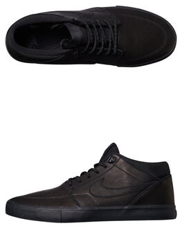 BLACK ANTHRACITE MENS FOOTWEAR NIKE SNEAKERS - SS923199-001M