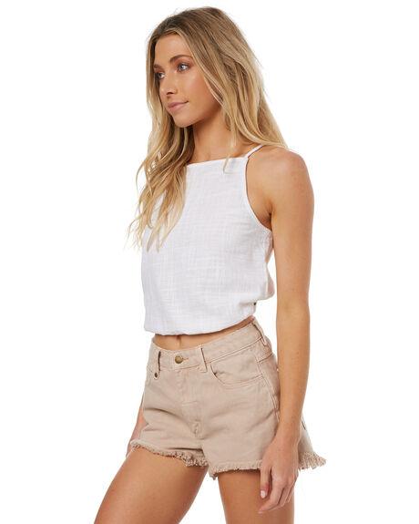 WHITE WOMENS CLOTHING BILLABONG FASHION TOPS - 6572107WHI