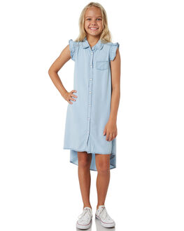 LIGHT BLUE KIDS GIRLS EVES SISTER DRESSES + PLAYSUITS - 9920080LBU