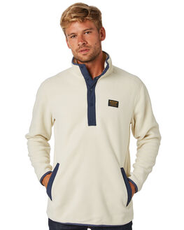 BONE WHITE MENS CLOTHING BURTON JUMPERS - 17350104100BNEWH