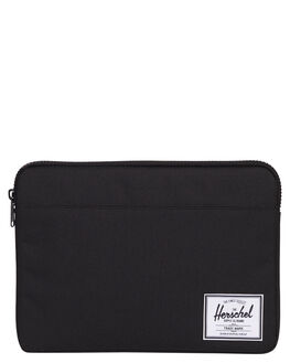 BLACK MENS ACCESSORIES HERSCHEL SUPPLY CO BAGS + BACKPACKS - 10054-00165-04BLK