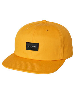 VINTAGE YELLOW MENS ACCESSORIES RIP CURL HEADWEAR - CCAAL98872