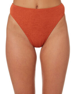 BURNT ORANGE WOMENS SWIMWEAR SOMEDAYS LOVIN BIKINI BOTTOMS - SS1806297ORNG