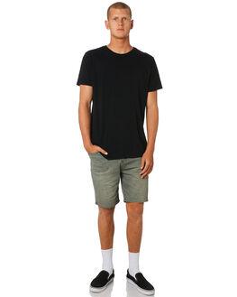 MOSS TWILL MENS CLOTHING LEE SHORTS - L-606386-FT4MOSS