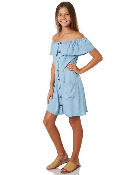 BLUE KIDS GIRLS EVES SISTER DRESSES + PLAYSUITS - 9520067BLU