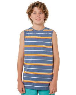 BLUE KIDS BOYS ST GOLIATH TOPS - 2420000BLU