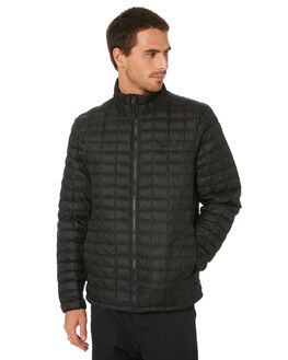 TNF BLACK MATTE MENS CLOTHING THE NORTH FACE JACKETS - NF0A3Y3NXYM