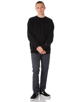 BLACK MENS CLOTHING CARHARTT JUMPERS - I02465289