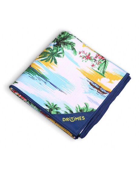 BLUE OUTDOOR BEACH DRITIMES TOWELS - DT001