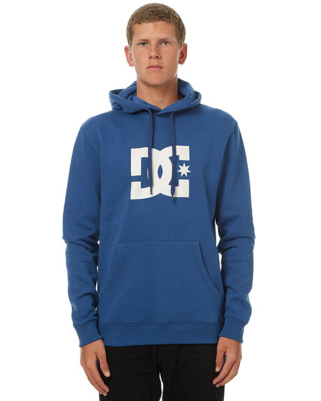 WASHED INDIGO MENS CLOTHING DC SHOES JUMPERS - EDYSF03107BSA0