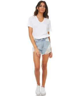 FIRECRACKER WOMENS CLOTHING A.BRAND SHORTS - 70927-3089