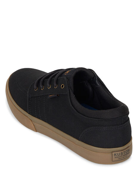BLACK GUM MENS FOOTWEAR KUSTOM SNEAKERS - KS-4991119-KKG