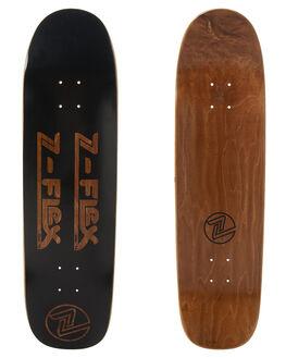 BLACK SKATE DECKS Z FLEX  - ZFX1007BLK