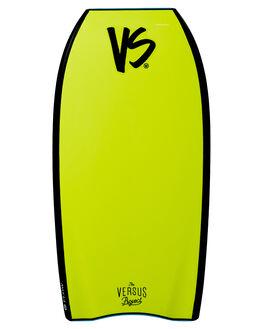 AQUA FLURO YELLOW BOARDSPORTS SURF VS BODYBOARDS BOARDS - V19FLOW40AQAQFY