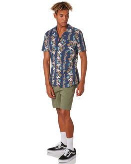 MID GREEN MENS CLOTHING RIP CURL SHORTS - CWABA99436