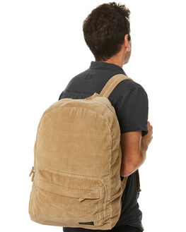 DARK TAN MENS ACCESSORIES STUSSY BAGS + BACKPACKS - ST705025DTAN