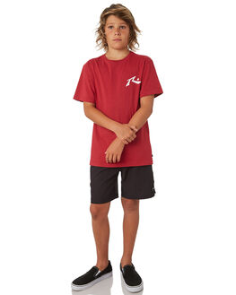 BLACK KIDS BOYS RUSTY BOARDSHORTS - BSB0356BLK