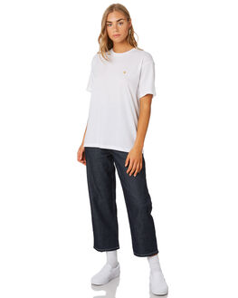 WHITE GOLD WOMENS CLOTHING CARHARTT TEES - I0264810290
