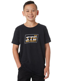 BLACK KIDS BOYS ST GOLIATH TEES - 2420005BLK